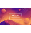 abstract modern dynamic trendy gradient vector image vector image