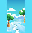 background made for mobile game reskin such as vector image vector image