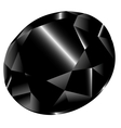 black diamond vector image vector image