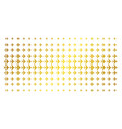 jet plane golden halftone grid vector image vector image