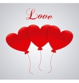Love and romantic icons design vector image vector image