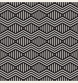 seamless geometric pattern modern zigzag texture vector image