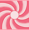 swirl candy background vector image vector image