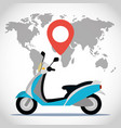 traveling and transport cartoon vector image vector image