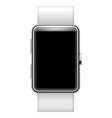 Blank smartwatch vector image