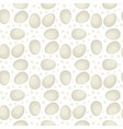 egg seamless pattern chicken egg vector image vector image