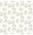 egg seamless pattern chicken vector image