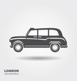 london car taxi vector image