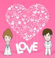Love symbol vector image
