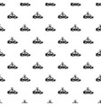 police car pattern seamless vector image
