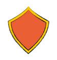 security web padlock shield vector image vector image