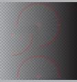 sensor waves signal or scanner laser vector image vector image
