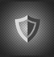 shield icon security protection icon vector image vector image