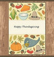 thanksgiving-1 vector image vector image