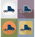 transport flat icons 13 vector image vector image