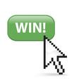 Win Button Click vector image vector image