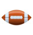 american football ball icon cartoon style vector image