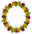 frame leaves vector image