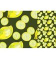 lemon abstract vector image