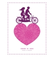pink abstract flowers texture couple on tandem vector image vector image