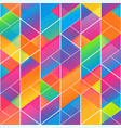 Rainbow color mosaic pattern