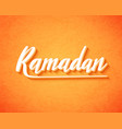 ramadan kareem for islamic background vector image