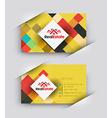 Real estate Business Card set vector image
