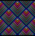 tapestry 3d seamless pattern embroidery vector image vector image