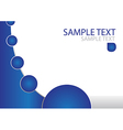 Abstract Brochure Template vector image vector image