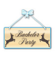 bachelor party vector image