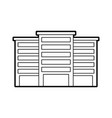 buildings property business or apartment residence vector image