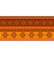 Ethnic jacquard ornament vector image