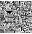 farm fresh organic food four different wallpaper vector image vector image