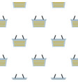 flasket for dirty washing pattern flat vector image vector image