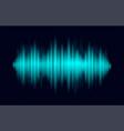 monochrome printing digital audio equalizer vector image