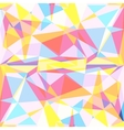 Polygon colorful background vector image vector image