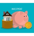 Real estate business investment vector image vector image