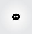 Speech Icon vector image vector image