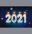 background happy new year vector image