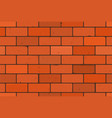 brick wall texture seamless pattern vector image