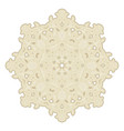 ceramic decors hand drawn mandala asian indian vector image vector image