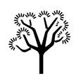 joshua tree glyph icon yucca brevifolia desert vector image