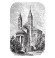 the cathedral at spires built between 916 and vector image vector image