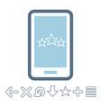 internet technologies icon vector image