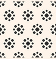 abstract dotted seamless pattern floral texture vector image vector image