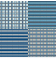 Checkered Seamless Blue vector image
