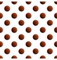 dessert biscuit pattern seamless vector image