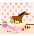 Nursery Toys vector image vector image