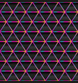 rainbow triangle texture vector image vector image