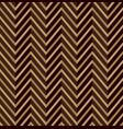 zig zag brown seamless pattern vector image